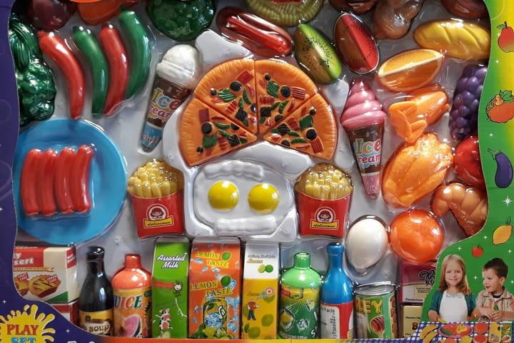 JEDZENIE ŻYWNOŚĆ - akcesoria do supermarketu