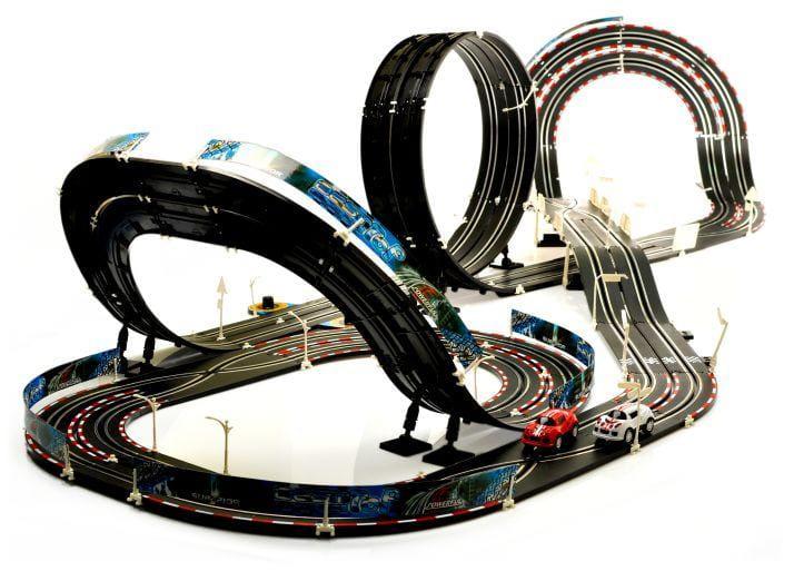 Image of Mega Elektroniczny Tor Wyścigowy - Super Spirale