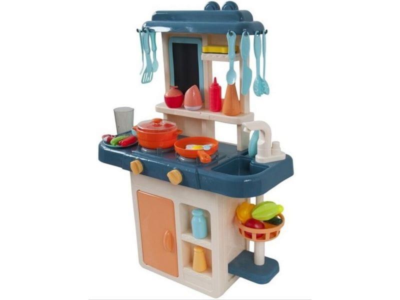 Multifunkcyjna Kuchnia dla dzieci Z Lodówką I Płytą Gazową